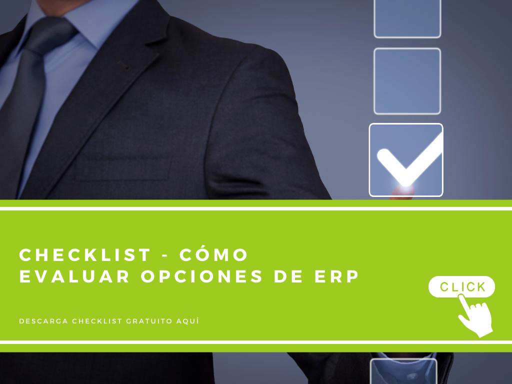 CN - banner Checklist - Cómo evaluar opciones de ERP